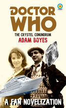 Doctor Who The Crystal Conundrum Novel Cover