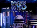 Education Of The Daleks