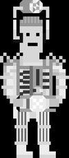 Pixelated Mondas Cyberman