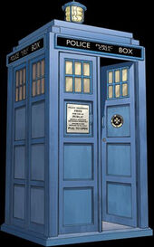 TARDIS Retro Comic
