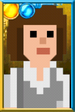 Sarah Jane Smith Pixelated Portrait
