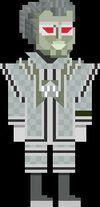 Sandminer Robot Pixelated Super-Voc