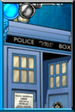 TARDIS Retro Comic Portrait