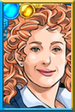 Fan River Song Denim Portrait