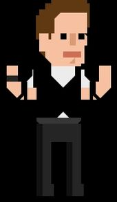 Jack Harkness Pixelated Guns