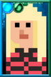 Polly Wright + Pixelated Portrait