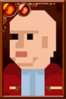 Nardole Pixelated Portrait