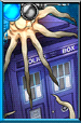 The Tardis Time Squid Covered Portrait