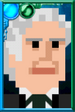 The Third Doctor + Pixelated Portrait