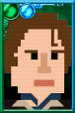 The Eighth Doctor + Pixelated Night Portrait