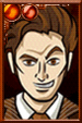 The Tenth Doctor + Cartoony Portrait