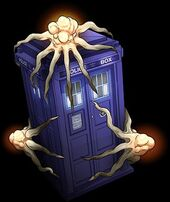 Tardis Time Squid Covered
