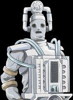 Mondas Cyberman (closeup)