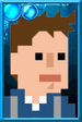 Fan Jack Pixelated Shirt Portrait