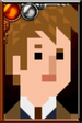The Tenth Doctor Pixelated Coat Portrait