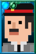 Brigadier Lethbridge-Stewart + Pixelated Portrait