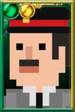 Brigadier Lethbridge-Stewart Pixelated Portrait