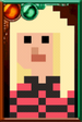Polly Wright Pixelated Portrait
