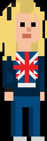 Rose Tyler Pixelated
