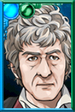 The Third Doctor + Alternate Jacket 2 Portrait