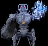 Cyber King Closeup