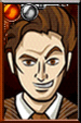 The Tenth Doctor Cartoony Portrait