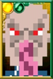 Ood Pixelated Portrait