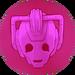 Cybermen pink gem