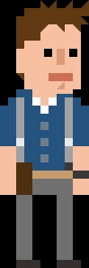Jack Harkness Pixelated Shirt