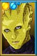 Madame Vastra Ninja Portrait