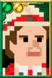 The Seventh Doctor Pixelated Portrait