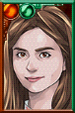 Clara Oswald Pajamas Portrait