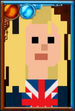 Rose Tyler + Pixelated Portrait