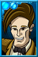 Eleventh Doctor + Cartoony Portrait