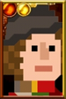 The Fourth Doctor Pixelated Portrait