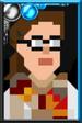 Petronella Osgood Pixelated Portrait