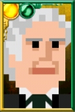 The Third Doctor Pixelated Portrait
