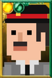 Fan Brigadier Pixelated Portrait