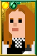 Amy Pond Pixelated Kissogram Portrait
