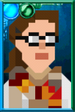 Signature Osgood Pixelated Portrait