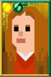 Amy Pond Pixelated Shorts Portrait