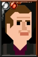 The Ninth Doctor Pixelated Portrait