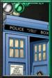 Trickster TARDIS Retro Comic Portrait