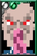 Ood (Black) Pixelated Portrait