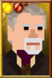 The War Doctor + Pixelated Right Portrait