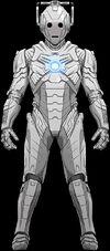 Upright Cyberman
