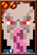 Ood (Red) Pixelated Portrait