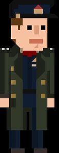 Jack Harkness Pixelated Captain
