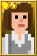 Sarah Jane Smith + Pixelated Portrait