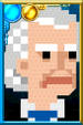 The First Doctor + Pixelated Portrait